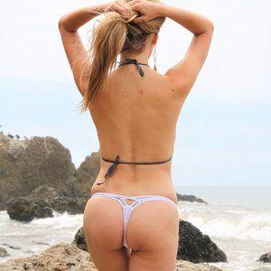 Strappy Brazilian V Thong G String Bikini BOttom